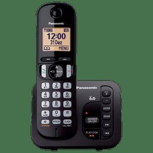 Telefone Sem Fio Com Secretária Eletrônica KX-TGC220LBB