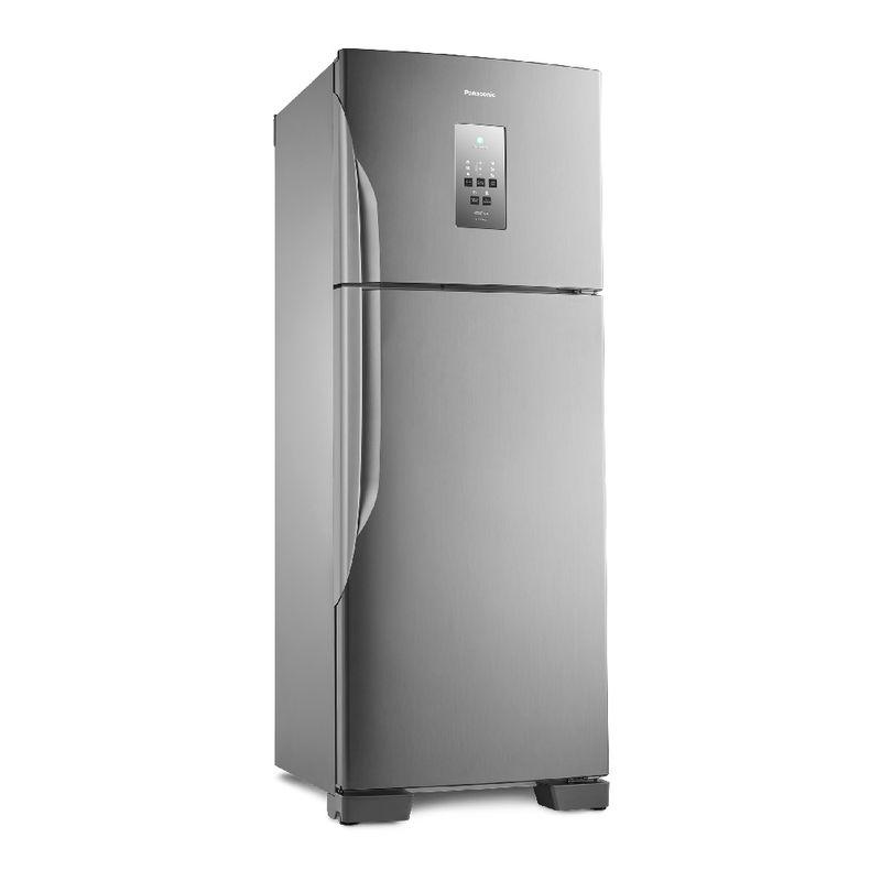 Geladeira Panasonic [re]generation Frost Free 483l Aço Escovado - NR-BT55PV2X
