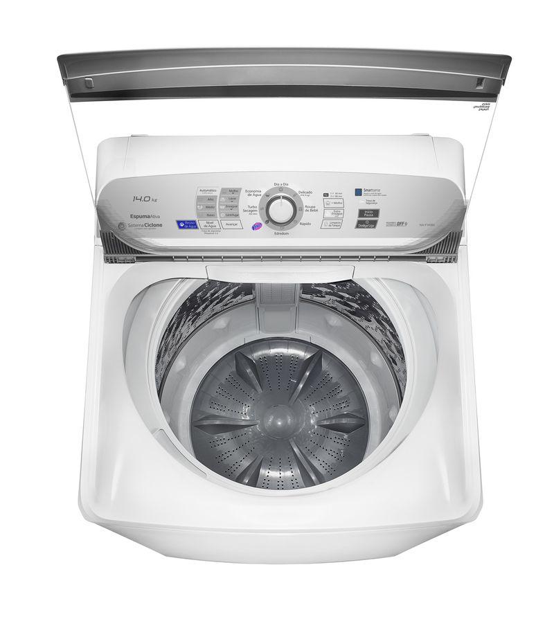 Máquina de Lavar Panasonic 14Kg Branco - NA-F140B6W