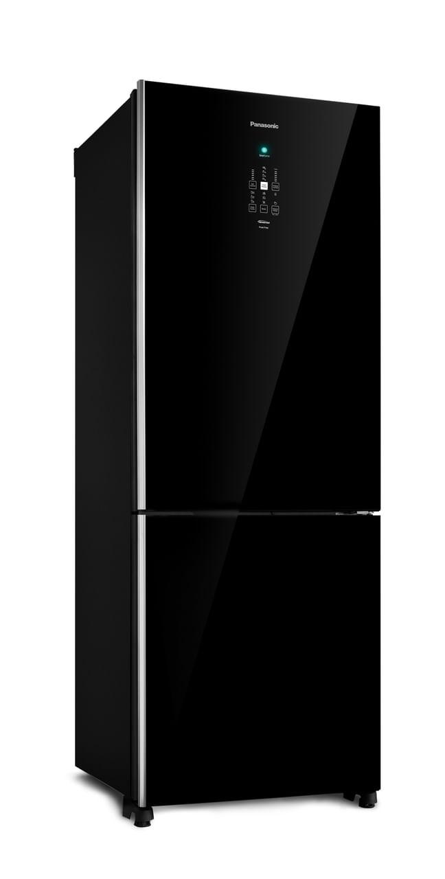 Geladeira Frost Free Panasonic Black Glass - NR-BB71GVFB