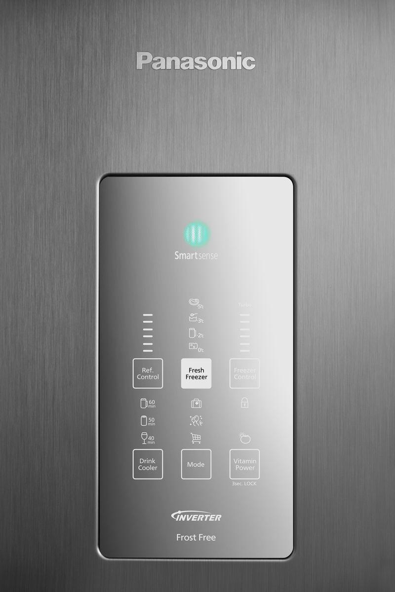 Geladeira Frost Free Panasonic Aço Escovado - NR-BB71PVFX
