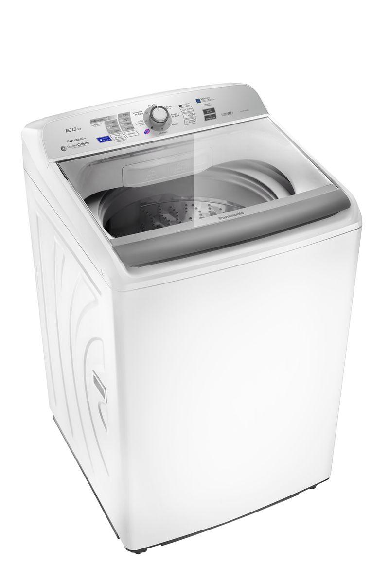 Máquina de Lavar Panasonic 16kg Branco - NA-F160B6W