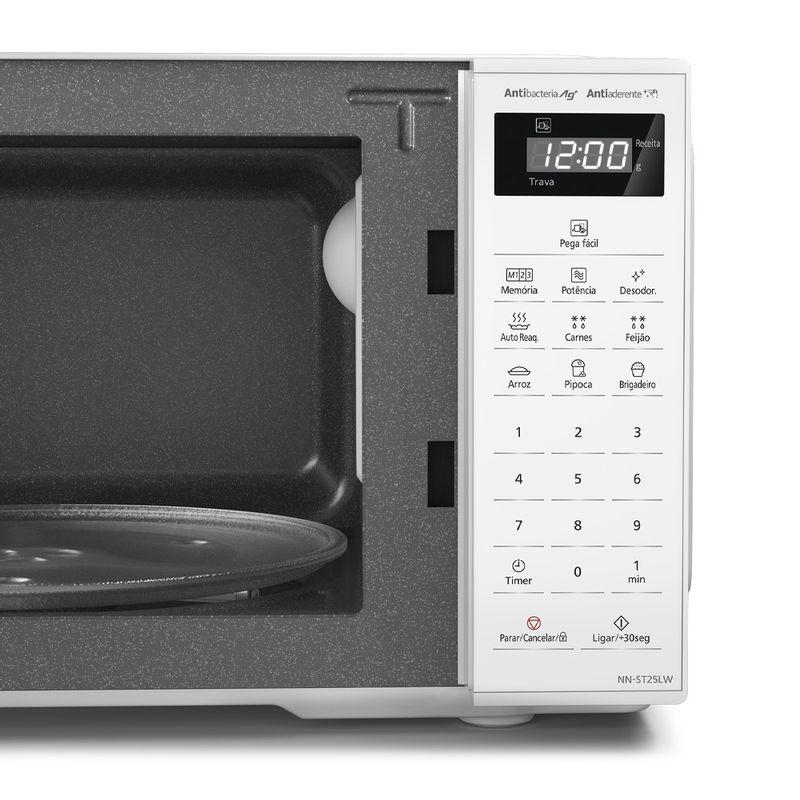 Micro-ondas Panasonic St25l 21l 700W Branco - NN-ST25LWRU