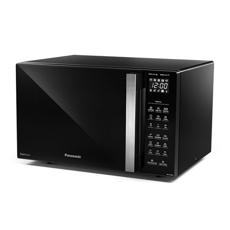 Micro-ondas Panasonic 30l 900W Preto GT68LBRU