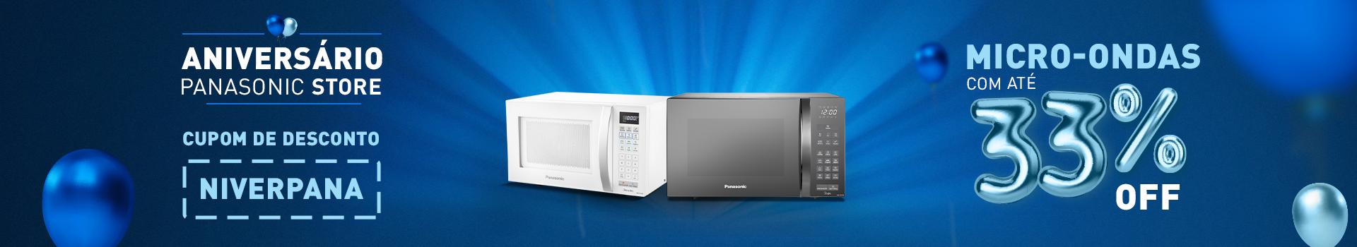Micro-ondas - Panasonic