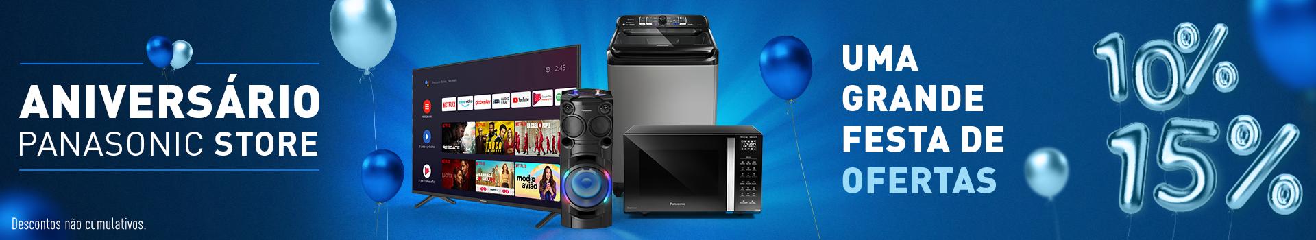 Eletrodomésticos - Panasonic