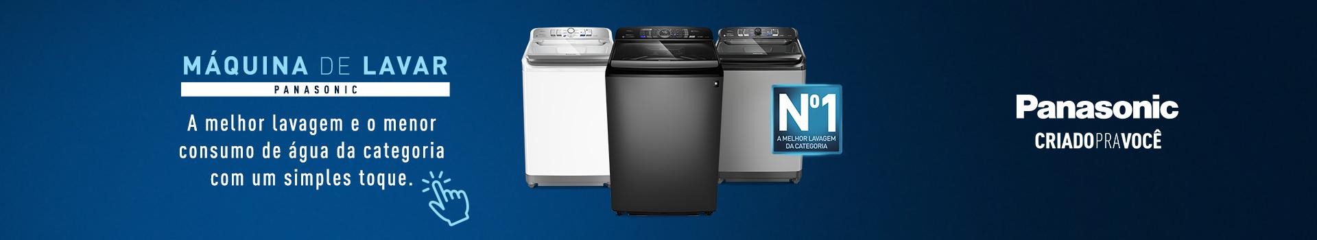 Máquina de Lavar - Panasonic