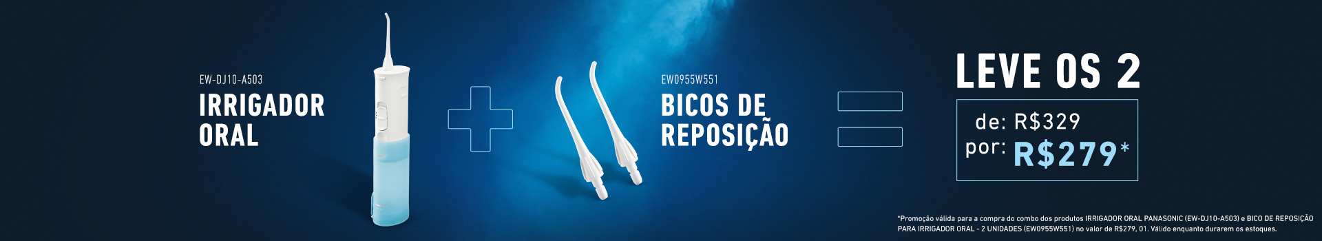 Irrigador Oral - Panasonic